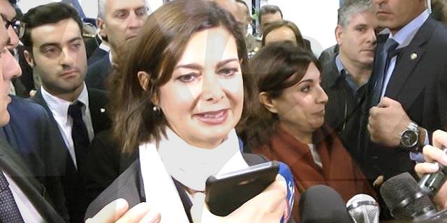 Laura Boldrini all'Unical: