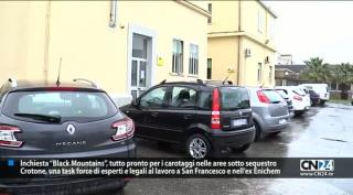 "Crotone. Black Mountains, ""task force"" di esperti a San Francesco e all'ex Enichem"