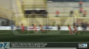 Calcio: Seconda divisione, Catanzaro batte Perugia 1-0