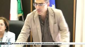 Al Comune di Crotone illustrato progetto efficientamento energetico
