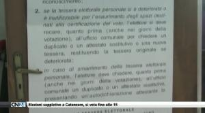 Elezioni suppletive a Catanzaro, si vota fino alle 15