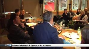 Bologna: la Provincia di Cosenza ad Art in Progress