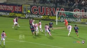 Crotone-Vicenza, il Video