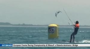 European Course Racing Championship di Kitesurf: a Gizzeria dominano i Bridge