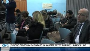 "Spaccio di droga a Catanzaro: in manette sette ""pusher"", la base era a Lido"